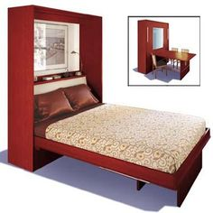 Murphy Bed with drop down table - Future home office / guest room