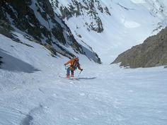 Cima dell' Agnel (mt 2927) per il canale Nord - CN#skialp #scialpinismo #skirando #skitouren17 maggio 2012