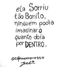 #sorriso #frases #dor
