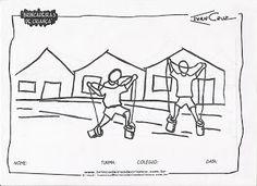 """Projeto """"Brincadeiras de Criança"""" - Ivan Cruz.: Vamos Colorir?"""