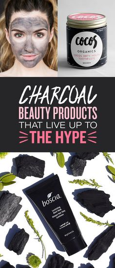 Charcoal Beauty Products That Live Up To The Hype 19 Charcoal Beauty Products People Swear Charcoal Beauty Products People Swear By Teeth Whitening Remedies, Charcoal Teeth Whitening, Natural Teeth Whitening, Beauty Care, Beauty Hacks, Hair Beauty, Korean Beauty Tips, Body Scrub Recipe, Hair Skin Nails