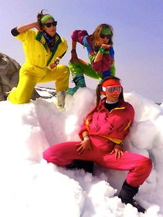 We just found out that we dont even have to pay people from poland to model our Retro Rentals ski wear they love it so much! You go girls..