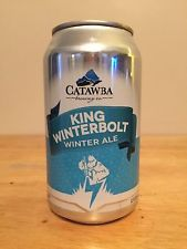 Catawba Valley Brewery King Winterbolt Winter Ale Craft Beer Can