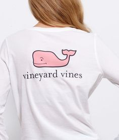 VV Logo Tee Shirt- vineyard vines