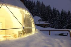 hoteles ecológicos   Estilo Escandinavo Outdoor Gear, Tent, Snow, Travel, Ideas, Scandinavian, Energy Conservation, Hotels, Style