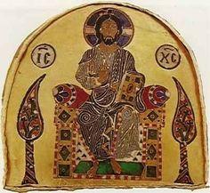 """Alsó Pantokrátor - Ítélő Krisztus-ábrázolás a Szent Koronán. Kezében magot tart, a trón két oldalán 'Élet -és Tudásfa' motívumokkal. Az élet alapját jelképezik, és a tudást amivel a gondolkodó embernek rendelkeznie kell. Tudományos szempontból az úgynevezett """"pánspermia-ősmag"""" elmélet szerint az élet csírái (magvai) jelen vannak az Univerzumban és speciális körülmények között képesek eljutni egyik bolygóról a másikra (esetleg  csillagközi távolságokat is megtehetnek).  A Metatron itt mint…"""