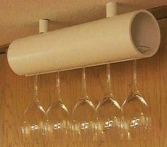 Artesanato Fofo: Organizadores com tubos de PVC