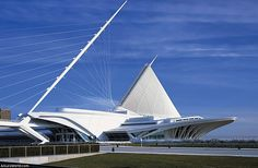 Milwaukee Art Museum, Milwaukee, United States. / Museo de Arte de Milwaukee, Milwaukee, Estados Unidos.