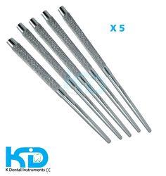 5 x dental instruments Mouth Mirror Handle Diagnostico CE Mark supply