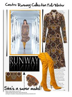 """Runway Fall/Winter"" by emcf3548 ❤ liked on Polyvore featuring castro"