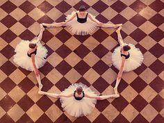 Quartrefoil ballerinias