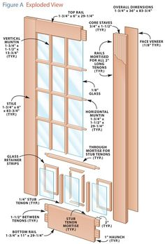 Build Your Own French Doors Traditional joinery and stave construction make these doors stable and durable. by Brad Holden Let that sunlight in, enjoy the view, and make a grand entrance! French doors are simply doors with windows from top to bottom. Building a set of French doors involves milling many parts and some careful upfront planning. In this story, I'll walk you through the whole process. First of all, …