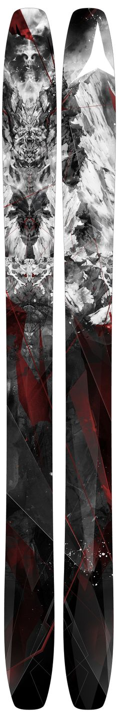 ATOMIC SKIS by Alexis Marcou, via Behance