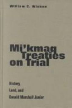 In 1725-6 the British colonial government of Nova Scotia signed a treaty of friendship and peace with the local Mi'kmaq people. This treaty explicitly acknowledged the co-existence of Mi'kmaq and British law. This timely and original work intersperses close analysis of the 1726 treaty with discussions of the Donald Marshall case, and shows how the inter-cultural relationships and power dynamics of the past, have shaped both the law and the social climate of the present.