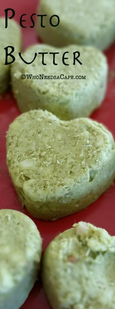 Pesto Butter, for grilled meats, poultry, fish or vegetables.