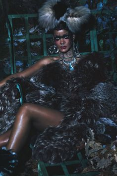 """Bad Gal Rihanna: The World's Wildest Style Icon"" in W magazine 2014 -- Photographer: Mert & Marcus (Mert Alas and Marcus Piggott) / Stylist: Edward Enninful / Hair: Yusef Williams / Makeup Kabuki / Manicure: Maria Salandra Moda Rihanna, Estilo Rihanna, Rihanna Style, Rihanna Fenty, Rihanna Fashion, Naomi Campbell, Magazine W, Magazine Editorial, Magazine Photos"