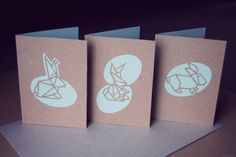 Cut Out Easter Cards