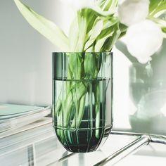 Colour vase grønn M | OsloDeco