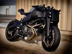 Remember the Magpul Ronin, the modified Buell we showed you back in January? Magpul was pleased with the response from readers and they've further refined their prototype with the inten… Buell Motorcycles, Cool Motorcycles, Concept Motorcycles, Batman Bike, Buell Cafe Racer, Monster Bike, Soichiro Honda, Motorbike Design, Moto Bike