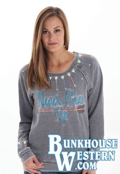 Grey Sweatshirt, Graphic Sweatshirt, Cowgirl Tuff, Fancy Hairstyles, Never Give Up, Addiction, Gray, My Style, Sweatshirts