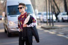 Pelayo Diaz Zapico - The Cut Milan Men's fashion week a/w 14-15 #StreetStyle