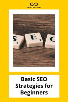 Basic SEO Strategies for Beginners You probably hear the term SEO or Search Engine Optimization from modern marketers all the time; Seo Strategy, Search Engine Optimization, Usb Flash Drive, Usb Drive