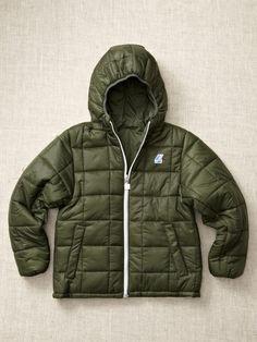 68827cee48e Unisex  Hooded Reversible Puffy Coat by K-Way on Gilt.com Kids Wear
