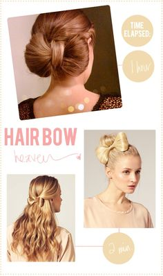 have some fun!!!!  get that hair bow from Asos.com!!  love the high bun. pair it with a thigh or knee lenght black dress that has a strait collar bone cut with long sleeves. add some cute heels!