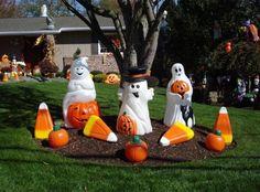 Vintage Halloween Blow Molds Halloween Blow Molds, Retro Halloween, Theme Halloween, Halloween Make, Outdoor Halloween, Halloween Ghosts, Holidays Halloween, Halloween 2015, Halloween Season