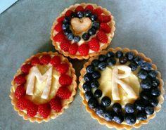 fresh fruit tarts - perfect for summer :)