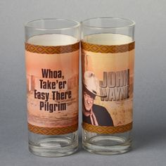 John Wayne Tumbler Glass