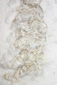 White - merino wool, silk, cotton