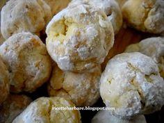 Ricette Barbare: Lemon crinkle cookies