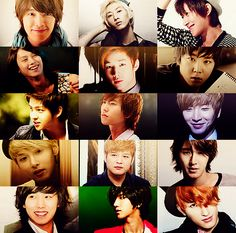 Super Junior - including Henry and Zhoumi!!!  I'll give my family 10 bucks if you can name 8 of them with no mistakes! LOL!