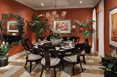 #KHOV_West   #KHOV_SoCal   Andalusia   The Shire - Dining Room