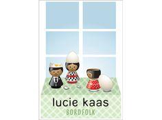 Lucie Kaas - BORDFOLK Plakat