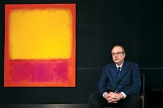 Microsoft co-founder Paul Allen-the world's first masterpiece-collecting, Jimi Hendrix-worshiping philanthropist.