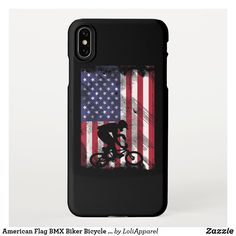 Bmx, American Flag, Apple Watch, Apple Iphone, Biker, Bicycle, Iphone Cases, Prints, Collection