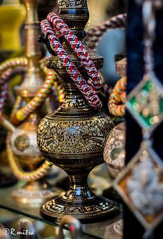 Hookah bars are always fun to go to with a couple of friends. Would love to go to the middle east sometime and see how the smoke from this waterpipe :P Hookah Smoke, Hookah Pipes, Hookahs, Bohemian Theme, Vape Smoke, Hookah Lounge, Moroccan Decor, Moroccan Room, Arabian Nights