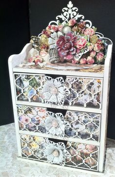 A masterpiece by Tammy Henderson made from Wonderland collection