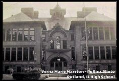 Rutland, IL High School  Built in 1902