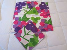 Vintage Pair Vera Napkins Abstract Grapes Authentic 1960s | eBay