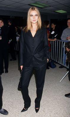 Kate Moss aux 1st Annual VH1 Fashion and Music Awards à New York, le 3 décembre 1995