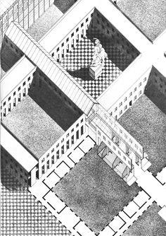 Aldo Rossi- Centro Direzionale, Florence, 1977