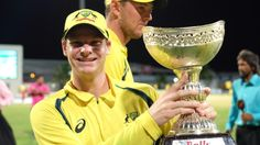 Match report: Marsh & Wade power Australia to 58-run win in tri-series final against Windies  #AuavsWI #cricket #sports #triseries