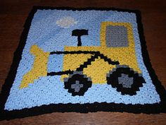 this patteren is done by the c2c stitch which you can find video on the internet, as soon as you have mastered that all you need to do is follow the graph