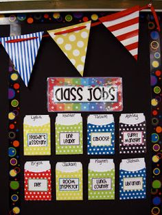 Assigning classroom jobs in a primary classroom makes the classroom more organized, and gives students motivation to participate.