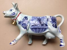 Vintage-DELFT-Cow-Creamer-Milk-Jug-from-DBL-Holland
