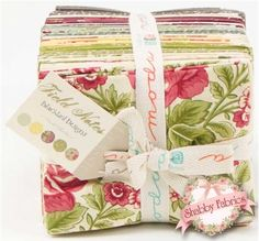 Field Notes  40 FQ Bundle by Blackbird Designs for Moda Fabrics: Field Notes is a rustic collection from Blackbird Designs for Moda Fabrics.  This fat quarter set contains 40 fat quarters, each measuring approximately 18 x 21.