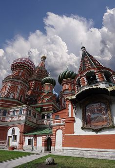 St Basil Cathedral, Red Square, Moscow, Russia